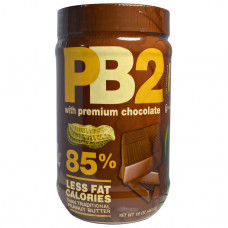 Bell Plantation, Арахисовое масло PB2 (сухой порошок) с шоколадом, 16 унций (453,6 г)