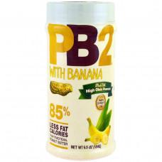 Bell Plantation, PB2, порошковое арахисовое масло с бананом, 6,5 унции (184 г)