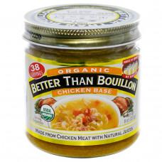 Better Than Bouillon, Органический куриный бульон, 8 унций (227 г)