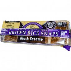 Edward & Sons, Хрустящие запеченые рисовые крекеры с черным кунжутом, 3.5 унций (100 г)