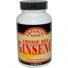 Imperial Elixir, Китайский Красный женьшень 100 капсул