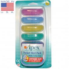 Apex, Карманная аптечка с таблетницей на 7 дней