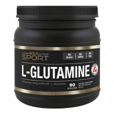 California Gold Nutrition, SPORT, Kyowa Hakko, Pure L-Glutamine Powder, 16 унций (454 г)
